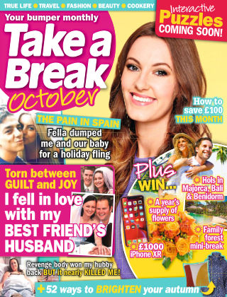Take a Break Series October 2019