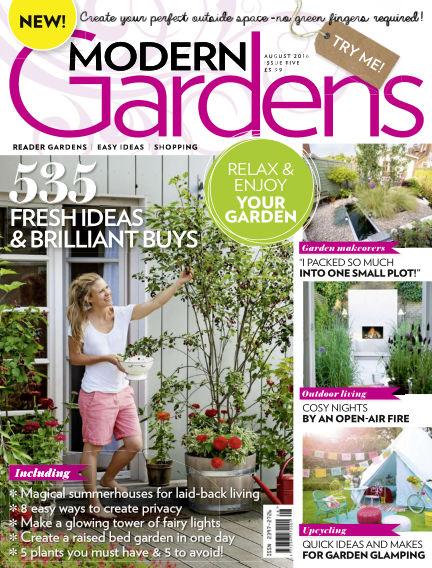 Modern Gardens July 27, 2016 00:00