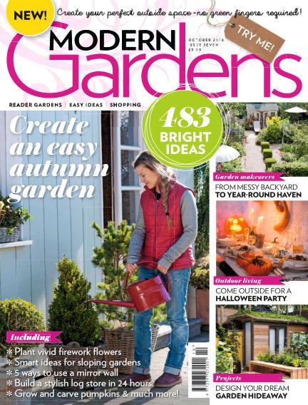 Modern Gardens September 29, 2016 00:00