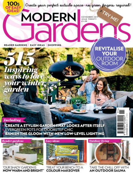Modern Gardens October 25, 2017 00:00
