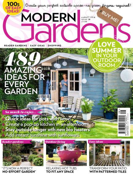 Modern Gardens July 25, 2018 00:00