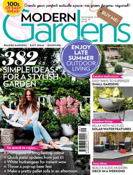 Modern Gardens August 29, 2018 00:00