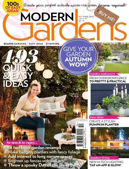 Modern Gardens September 26, 2018 00:00