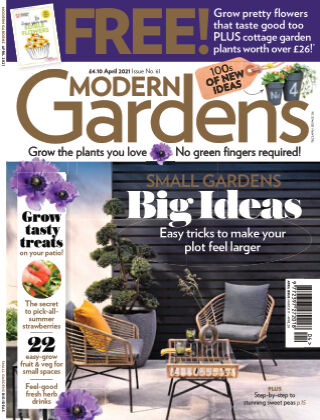 Modern Gardens April 2021