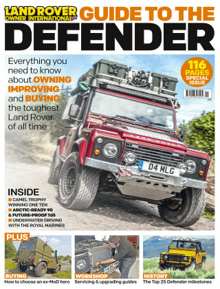 Land Rover Owner Specials Guide to Defender