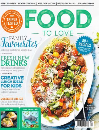 Food To Love September 2018