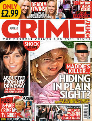 Crime Monthly Issue 16