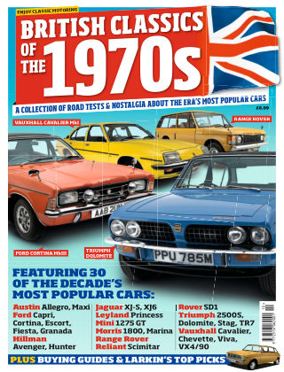 Classic Car Weekly Specials 1970s