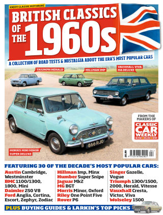 Classic Car Weekly Specials 1960s