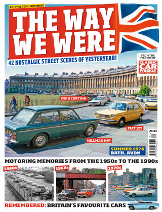 Classic Car Weekly Specials The Way We Were 1