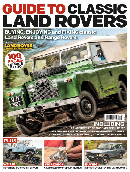Land Rover Owner Specials