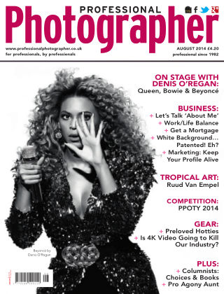 Professional Photographer August 2014
