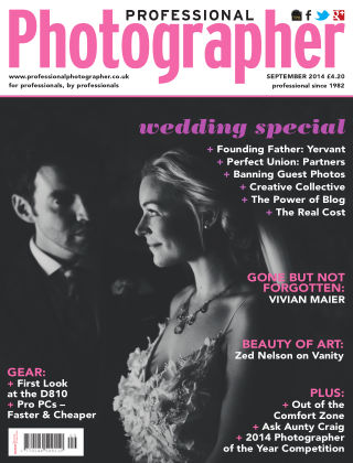 Professional Photographer September 2014