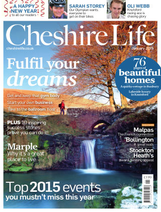 Cheshire Life January 2015