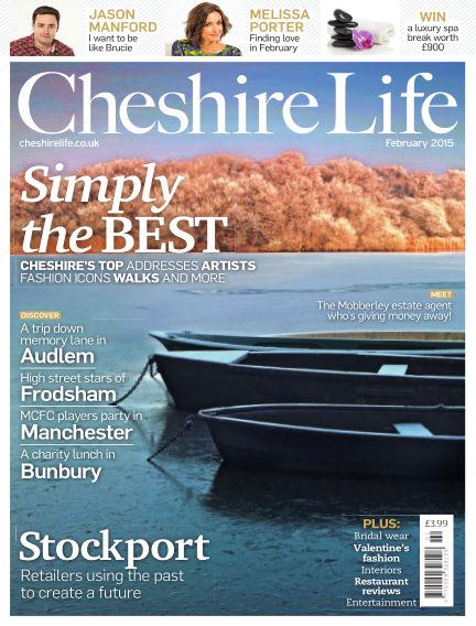 Cheshire Life January 16, 2015 00:00