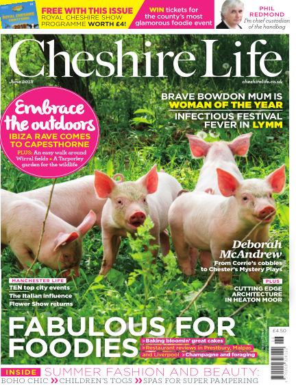 Cheshire Life May 18, 2018 00:00