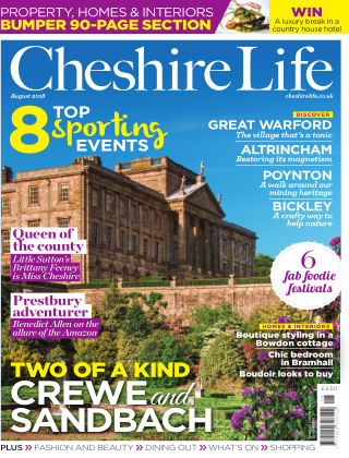 Cheshire Life August 2018