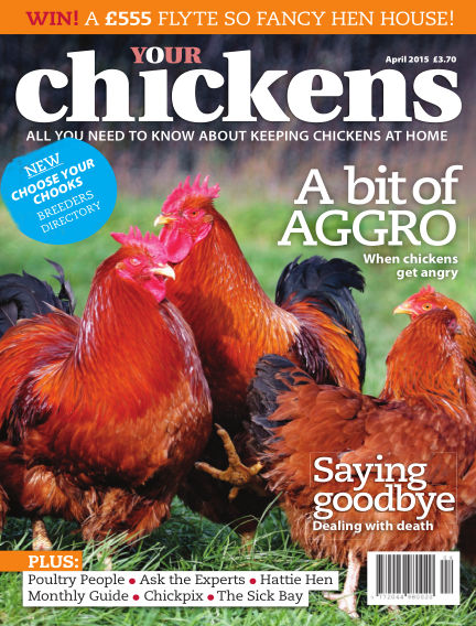 Your Chickens March 18, 2015 00:00