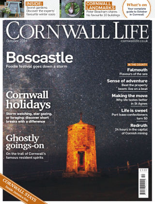 Cornwall Life October 2014