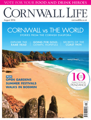 Cornwall Life August 2016