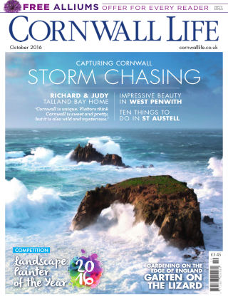 Cornwall Life October 2016