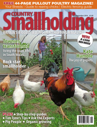 Country Smallholding September 2014
