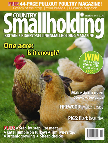 Country Smallholding September 25, 2014 00:00