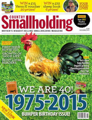 Country Smallholding November 2015
