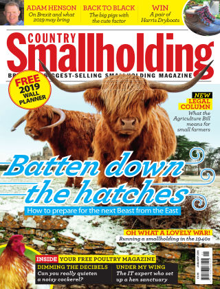 Country Smallholding January 2019