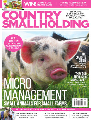 Country Smallholding April 2020