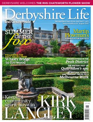Derbyshire Life August 2017