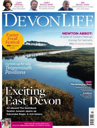 Devon Life March 2016