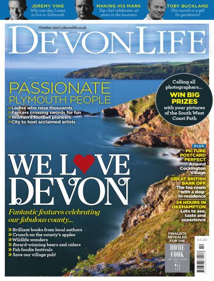 Devon Life September 21, 2017 00:00