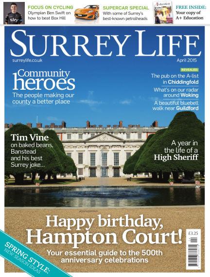 Surrey Life March 19, 2015 00:00