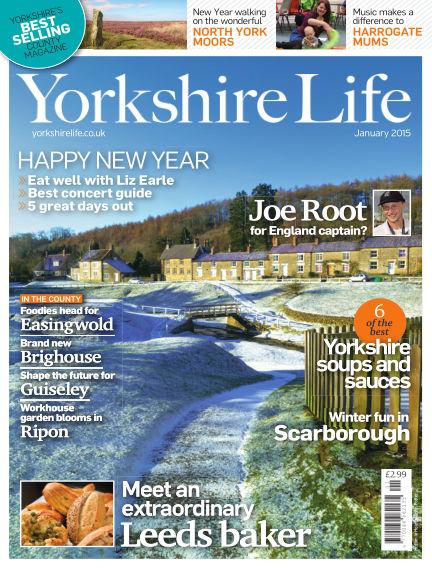 Yorkshire Life December 18, 2014 00:00