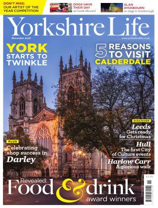 Yorkshire Life November 2016