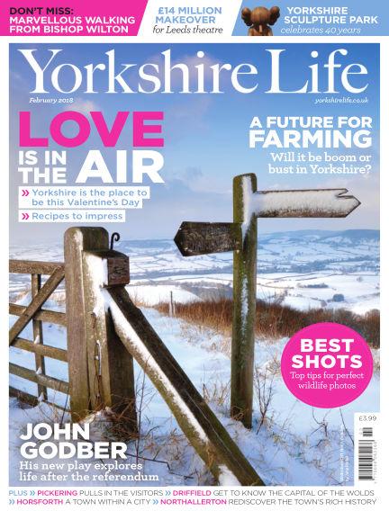 Yorkshire Life January 25, 2018 00:00