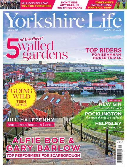 Yorkshire Life May 17, 2018 00:00