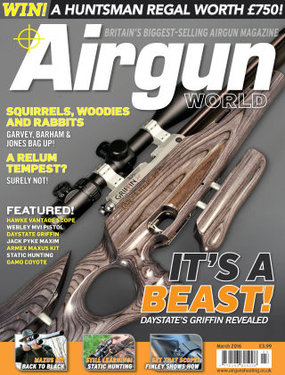 Airgun World March 2016