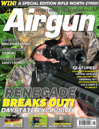 Airgun World August 2016