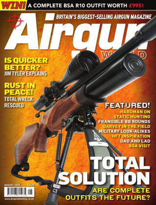 Airgun World August 2018