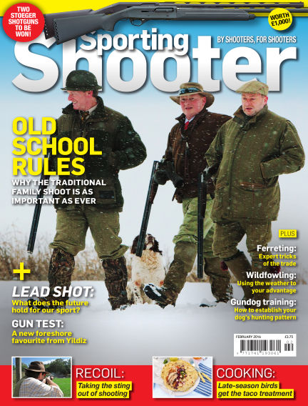 Sporting Shooter January 05, 2016 00:00
