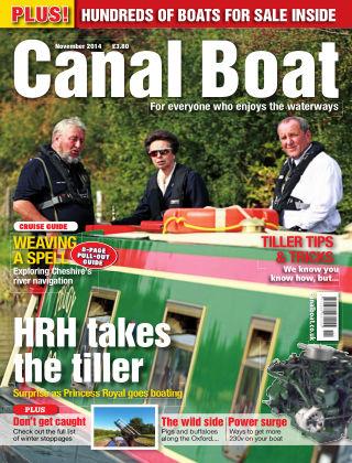 Canal Boat November 2014