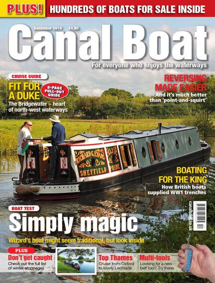 Canal Boat November 05, 2014 00:00
