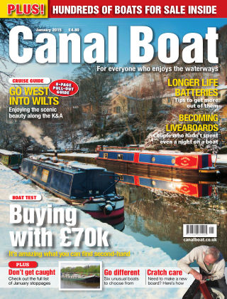 Canal Boat January 2015