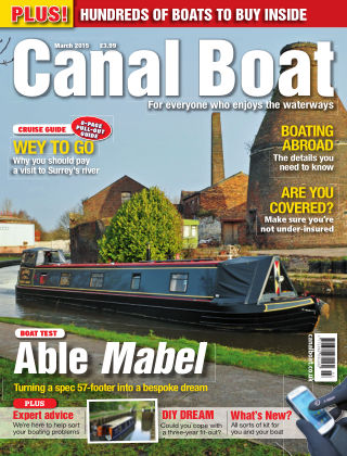 Canal Boat March 2015