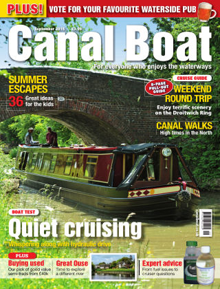 Canal Boat September 2015
