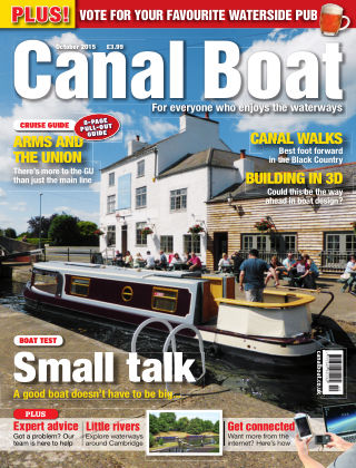 Canal Boat October 2015
