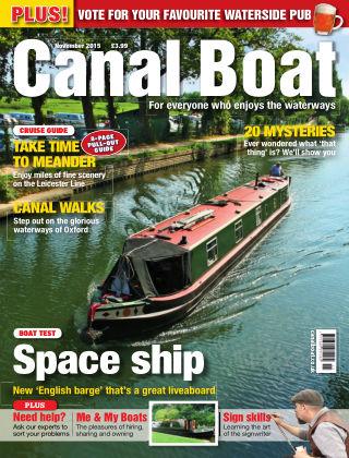 Canal Boat November 2015