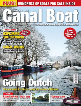 Canal Boat January 2016
